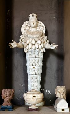 Free Statue Of The Ephesian Artemis Stock Photo - 26438080