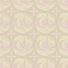 Free Floral Retro Pattern Stock Images - 26438494
