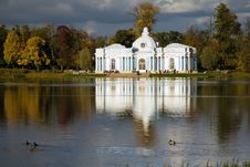 Pavilion Grotto. Pushkin &x28;Tsarskoye Selo&x29; Stock Photo