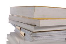 Free Stack Of Books Stock Image - 26438881