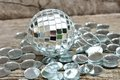 Free Mirror Christmas Ball Royalty Free Stock Image - 26440306