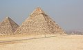 Free The Pyramid Of Khufu &x28;Cheops&x29; And Khafre. Stock Photo - 26440860