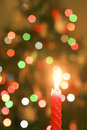 Free Christmas Candle Royalty Free Stock Images - 26448269