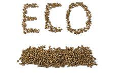 Free Eco Inscription Royalty Free Stock Photography - 26441177