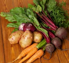 Free Heap Of Raw Organic Vegetables Stock Images - 26441314