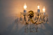 Free Beautiful Crystal Classical Chandelier Stock Photos - 26443393