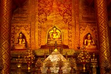 Free Detail Buddha Of The Temple Stock Images - 26445114