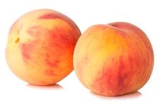Free Ripe Peaches Fruit Stock Photography - 26445522