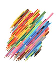 Free Color Pencils Stock Photography - 26446002