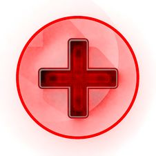 Free Red Cross Sign Royalty Free Stock Image - 26446156
