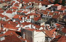 Free Red Roofs Lisbon Royalty Free Stock Photos - 26446888