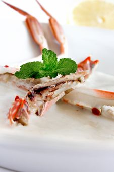 Crab Meat Royalty Free Stock Photography