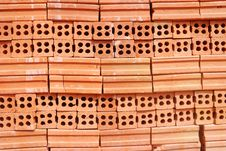 Clay Brick Royalty Free Stock Photography