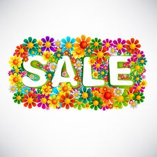 Free Flowers Mix Sale Royalty Free Stock Photography - 26447747