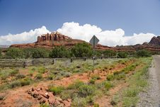 Free Cathedral Rock Sedona Royalty Free Stock Photography - 26448287