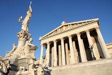 Free Austrian Parliament In Vienna, Austria Stock Image - 26452581