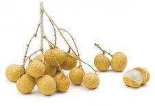Free Longan Thailand Tropical Fruit Royalty Free Stock Image - 26455036