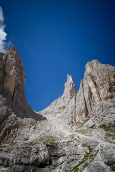 Free Vajolet Towers, Dolomites Stock Images - 26456664