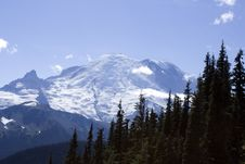 Free Mt. Rainier At Sunrise Stock Photos - 26457553