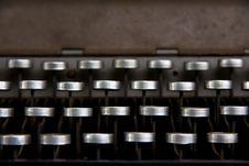 Free Vintage Typewriter Stock Photography - 26458342