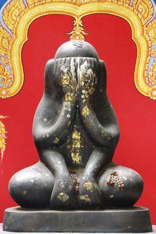 Thai Amulet Stock Photo