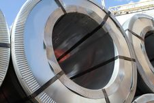 Free Rolled Steel Royalty Free Stock Photo - 26459665