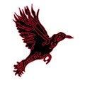 Free Big Predatory Bird With Open Wings Stock Photo - 26466460