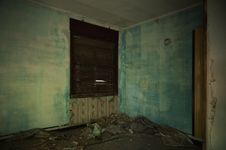 Free Devastated Room In The Building Stock Photo - 26461010