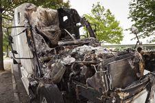 Free Burnt Truck Stock Photo - 26462200