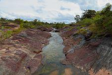 Free Waterfall. Stock Image - 26463601