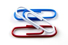 Free Paper Clips Stock Photography - 26464482