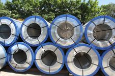 Free Rolled Steel Stock Images - 26465154