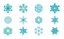 Free Snowflakes Vector Stock Photography - 26465232