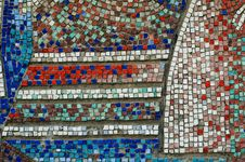 Free Mosaic Wall Texture Royalty Free Stock Photos - 26465558
