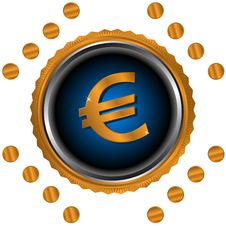 Free Euro Symbol Stock Image - 26466861