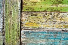 Grunge Wood Planks Stock Photo