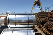 Free Rolled Steel Stock Photography - 26469672