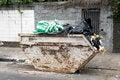 Free Urban Trash Stock Photography - 26471642