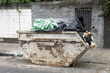 Free Urban Trash Stock Photography - 26471642