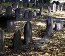 Graveyard Stock Image
