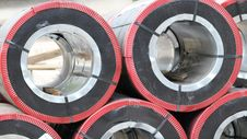 Free Rolled Steel Royalty Free Stock Photography - 26472407