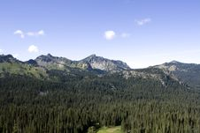 Free Mountain With Dense Forest Stock Photo - 26473850
