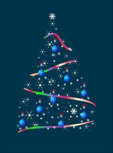 Free Christmas Tree Royalty Free Stock Photos - 26474118