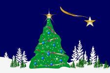 Free Christmas Tree Stock Photos - 26474173