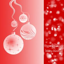 Free Merry Christmas Royalty Free Stock Photo - 26474235