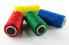 Free Spools Of Thread Royalty Free Stock Photography - 26474947