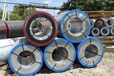 Free Rolled Steel Stock Photos - 26475523