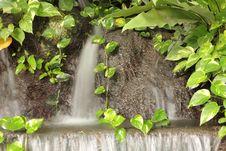 Free Waterfall In Garden Stock Photo - 26476100