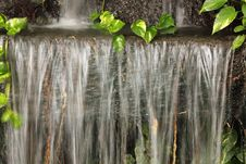 Free Waterfall In Garden Royalty Free Stock Photo - 26476195