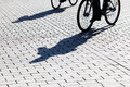 Free Shadows Of Cyclists Royalty Free Stock Image - 26480676